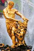 Samson-statue — Stockfoto