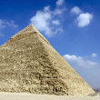 Giza pyramids, cairo, egypt — Stock Photo