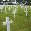 American cemetery in Omaha Beach, Normandy - Stock Photo