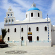 A church in Oia, Santorini, Greece — Stock Photo