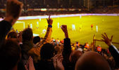 Football Excitement — Stock Photo