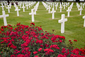 American cemetery in Omaha Beach, Normandy — Stock Photo