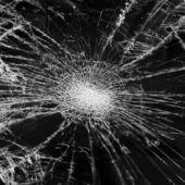 Broken glass — Stock Photo