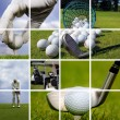 Golf concept - Stock fotografie