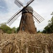 Old wooden windmill — Stock Photo #4229108