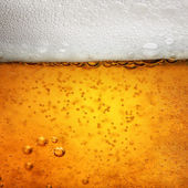 Close up photo of a glas Beer — Stock Photo