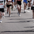 Marathon runners — Stock Photo #4230213