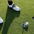 Golf Putt — Stock Photo