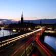 Stock Photo: Stockholm by Night