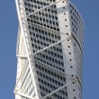 Turning Torso in Malmo, Sweden. A office and apartment building — Stock Photo