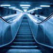 Moving escalator — Stock Photo #4230428