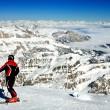Ski resort Italy — Stock Photo