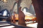 Vadstena cloister church — Stock Photo