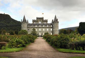 Exterior of Inveraray Castle — Stock Photo