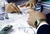 Business planing — Stock Photo