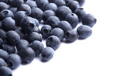 Blueberry on white — Stock Photo