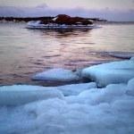 Ice floe — Stock Photo