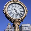 Stock Photo: 5th Avenue clock, New York City