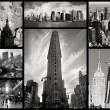 Collage of New York city - Stock Photo