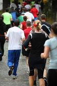Atletas corredores — Fotografia Stock