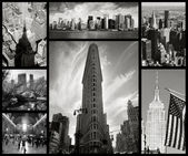 Collage of New York city — Stok fotoğraf