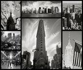 Collage of New York city — Stock Photo