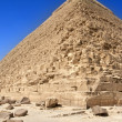 Giza pyramids, cairo, egypt — Stock Photo #4307812
