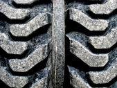Profilo di un grosso pneumatico — Foto Stock