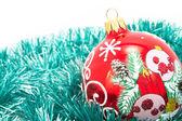 Adornos de cristal de árbol de navidad — Foto de Stock