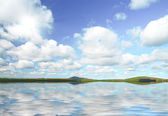 Havet idyll — Stockfoto