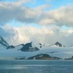 isola di ghiaccio antartico — Foto Stock