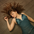 Stockfoto: On floor