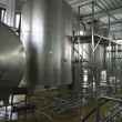 Industrial liquid storage tanks - Stockfoto