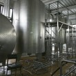 Industrial liquid storage tanks - Stock Photo