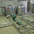 Stock Photo: Temperature controlled pressure tanks and valves in factory