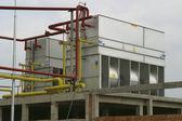 Compressor de refrigeração industrial — Foto Stock