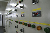 Industrial switch panel — Stock Photo