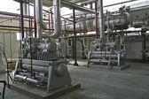 Componente industrial na fábrica — Foto Stock