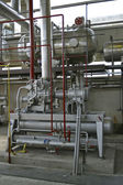 工业组件厂 — 图库照片