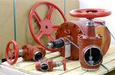 Industrial valves — Stock Photo