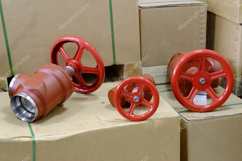 Industrie-Armaturen — Stockfoto © fotomy #4158617 | {Armaturen industrie 98}
