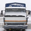 Old truck parked in snow — Stock Photo #4174262