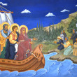 Religious mural painting — Stock Photo