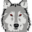 Wolf — Stock Vector