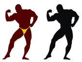Bodybuilding — Stock Vector
