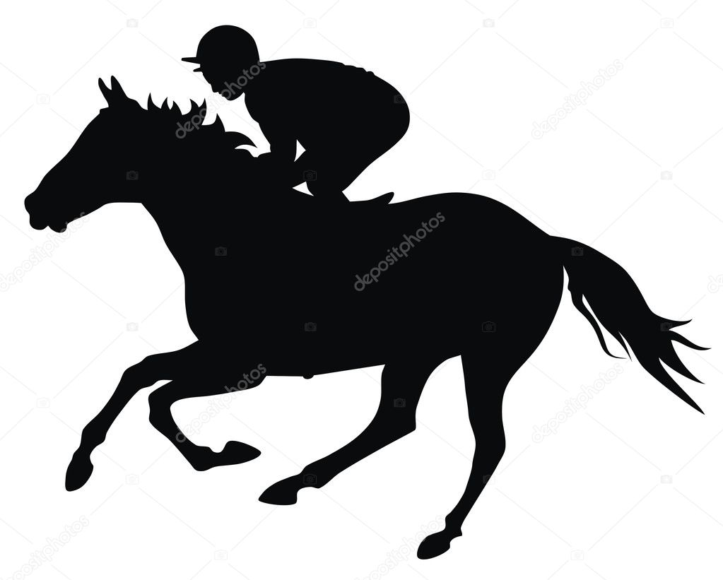 Paarden In De Stal Kleurplaten Horse Racing Stock Vector 169 Oorka5 4273425