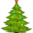 Christmas tree — Stock Vector #4297305