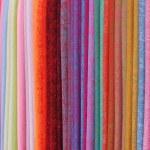 Coloured fabrics — Stock Photo #4539326