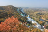 Sviatohirsk klasztoru w ukraina, sviatohirsk — Zdjęcie stockowe