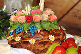 Bread,; holiday; food; traditional; culture; sabbath; jewish; — Stock Photo